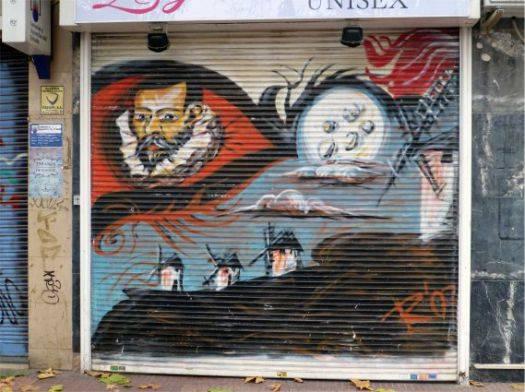 grafitti cervantes