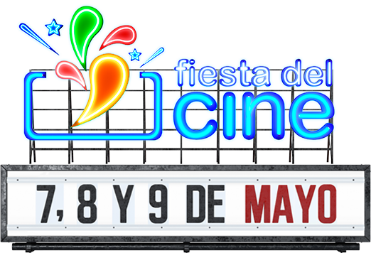 ¡Vuelve la Fiesta del Cine los días 7, 8 y 9 de mayo!