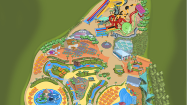 El Parque Warner Beach ya tiene nuevo plano