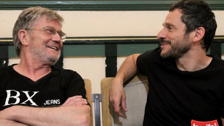 Entrevista César Camino y Eloy Arenas: «El teatro me da una vida extraordinaria.»