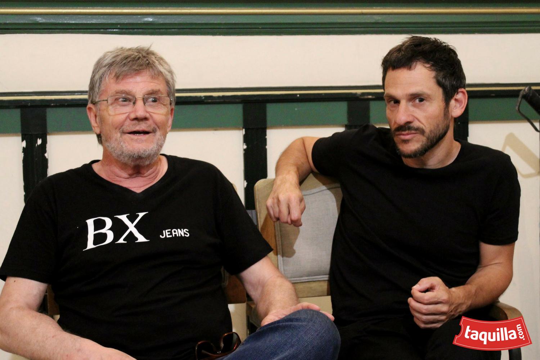 Entrevista César Camino y Eloy Arenas: El teatro me da una vida extraordinaria.
