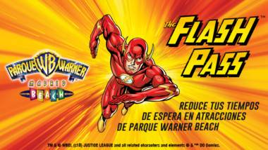 The Flash Pass: sáltate la cola en Parque Warner Beach