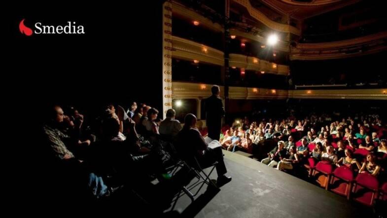 Enrique Salaberría, presidente de Smedia: «Solo podemos trabajar con el 100% del aforo»