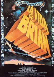 Cartel de la película La vida de Brian