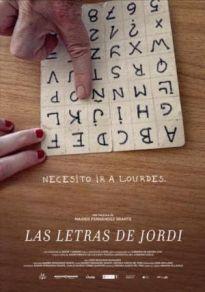 Cartel de la película Las letras de Jordi
