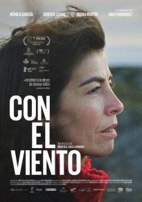 Cartel de la película Con el viento