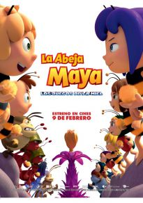 Cartel de la película La abeja Maya: Los juegos de la miel