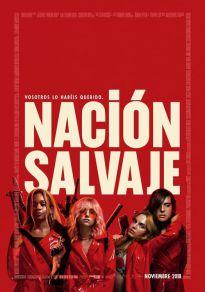 Cartel de la película Nación salvaje