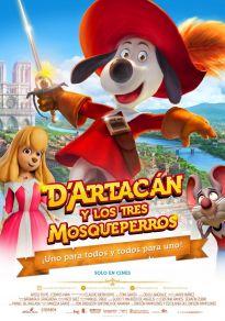 Cartel de la película D'Artacán y los tres mosqueperros