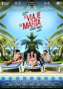 Cartel de la película El viaje de Marta