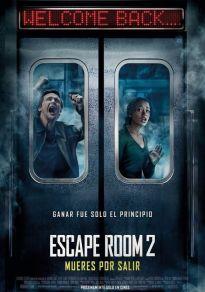 Cartel de la película Escape Room 2: Mueres por salir
