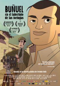 Cartel de la película Buñuel en el laberinto de las tortugas
