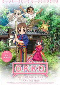 Cartel de la película Okko, el hostal y sus fantasmas