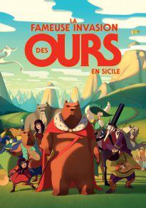 Cartel de la película La famosa invasión de los osos en Sicilia