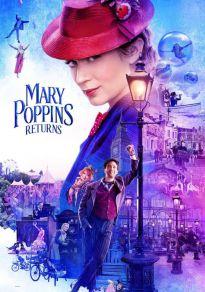 Cartel de la película El regreso de Mary Poppins