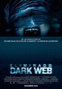 Cartel de la película Eliminado: Dark Web