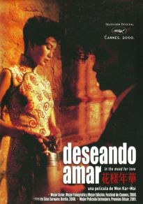 Cartel de la película In the Mood for Love (Deseando amar)