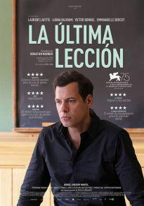 Cartel de la película La última lección