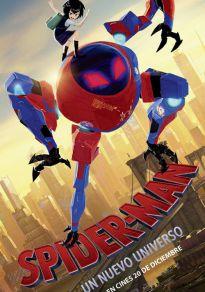 Cartel de la películaSpider-Man: Un nuevo universo