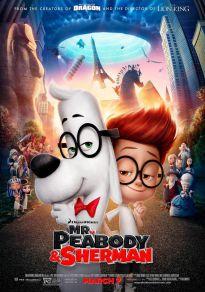 Cartel de la película Las Aventuras de Peabody y Sherman