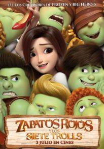 Cartel de la película Zapatos rojos y los siete trolls