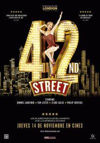 Cartel de la película42nd Street