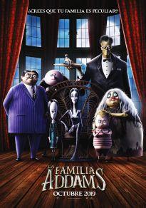 Cartel de la película La familia Addams 2019