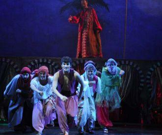 Aladino y la lámpara - Cía La Bicicleta