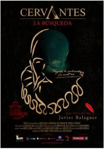 Cartel de la película Cervantes, la búsqueda