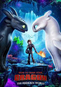 Cartel de la película Cómo entrenar a tu dragón 3