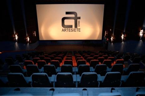 Cartelera de cines multicines artesiete caudalia mieres for Cartelera avenida sevilla