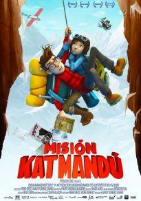 Cartel de la película Misión Katmandú
