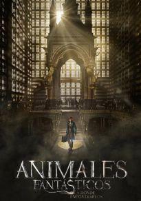 Cartel de la película Animales fantásticos y dónde encontrarlos