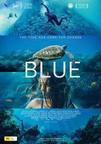 Cartel de la película Blue