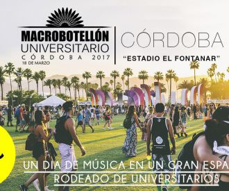 Macrobotellón Universitario Córdoba