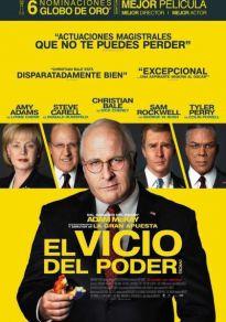 Cartel de la película El vicio del poder