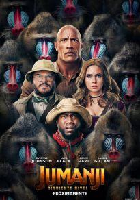 Cartel de la película Jumanji: Siguiente nivel