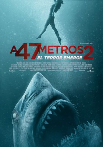 A 47 metros 2: el terror emerge background