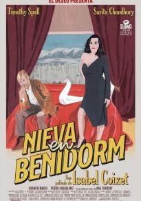 Cartel de la película Nieva en Benidorm