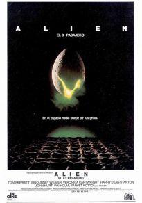 Cartel de la película Alien, el octavo pasajero