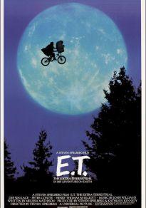 Cartel de la película E.T., El extraterrestre