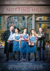 Cartel de la película Una pastelería en Notting Hill