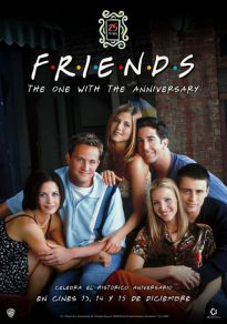 Cartel de la película Maratón: Friends: The One With The Anniversary