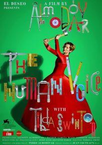Cartel de la película La voz humana