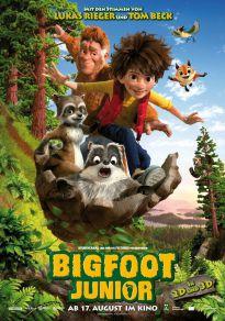 Cartel de la película El hijo de bigfoot