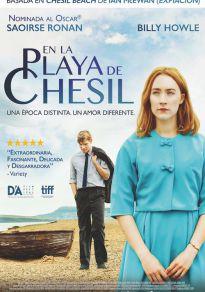Cartel de la película En la playa de Chesil
