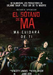 Cartel de la película El sótano de Ma