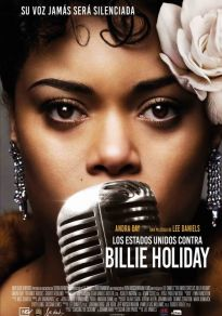 Cartel de la película Los Estados Unidos contra Billie Holiday
