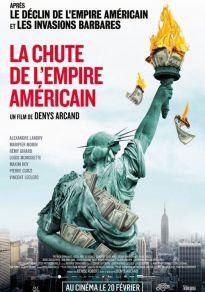 Cartel de la película La caída del imperio americano