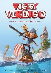Cartel de la película Vicky el Vikingo y la espada mágica